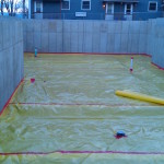 Vapor intrusion barrier for new construction